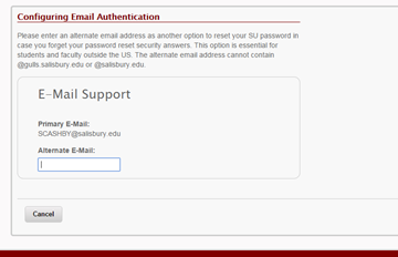 Configuring Email Authentication